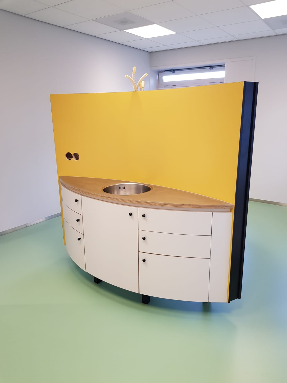 Interieur Gezondheidscentrum Zaandam